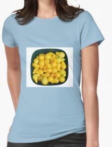Yellow Tomatoes in Sunlight Womens Fitted T-Shirt