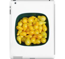 Yellow Tomatoes in Sunlight iPad Case/Skin