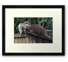 A Good Joke Framed Print