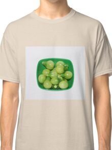 Green Tomatoes In Green Bowl Classic T-Shirt