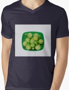 Green Tomatoes In Green Bowl Mens V-Neck T-Shirt