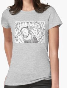 Spring girl Womens Fitted T-Shirt