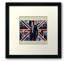 London has fallen Framed Print