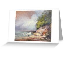Coastal beauty Greeting Card