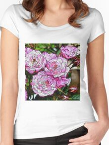 Rose20151001 Women's Fitted Scoop T-Shirt