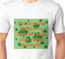 God Invented Whiskey Unisex T-Shirt