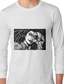Feathers and Bone Long Sleeve T-Shirt