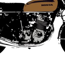 "HONDA CB750 FOUR ""GET A SUPERIORITY COMPLEX"" Sticker"