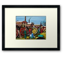 Day at the Steam Up Framed Print