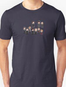 Sherlock characters Unisex T-Shirt