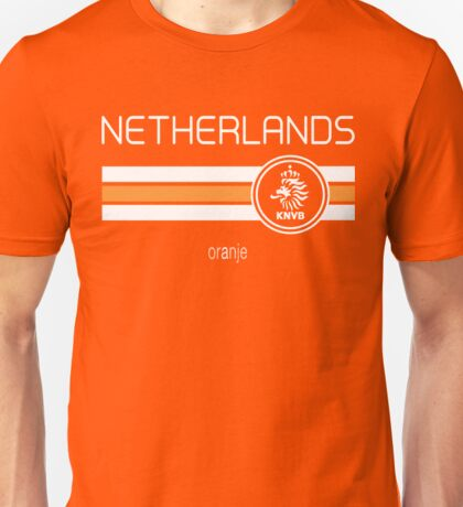Football - Netherlands (Home Orange) Unisex T-Shirt