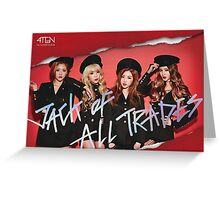 4ten Greeting Card