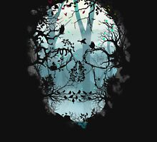 Dark Forest Skull Unisex T-Shirt