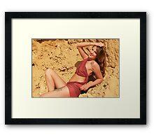 Beautiful Woman  Framed Print