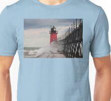South Haven, Michigan Lighthouse-1  Unisex T-Shirt