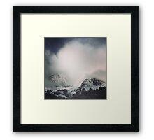 The alps 3 Framed Print