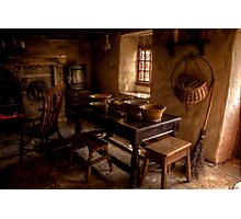 Thomas Bewick Cottage (Inside) Photographic Print
