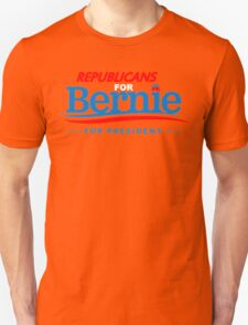 Republicans for Bernie for President - Sharp Red T-Shirt