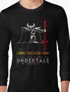 Asgore Dreemurr - Undertale Long Sleeve T-Shirt