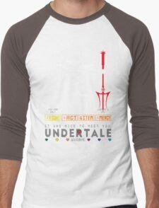Asgore Dreemurr - Undertale Men's Baseball ¾ T-Shirt