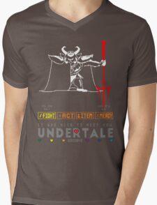 Asgore Dreemurr - Undertale Mens V-Neck T-Shirt