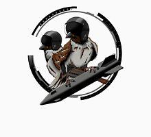 birds. sparrows. pilots. flight. Unisex T-Shirt