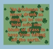 In Irishman Is Never Drunk One Piece - Short Sleeve