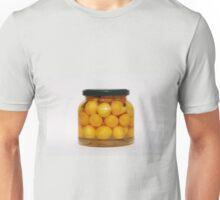 Jar of Yellow Cherry Grappa Preserve Unisex T-Shirt