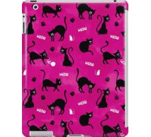 Cute Pink Cats iPad Case/Skin