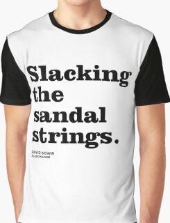 Misheard song lyrics - Aladdin Sane Graphic T-Shirt
