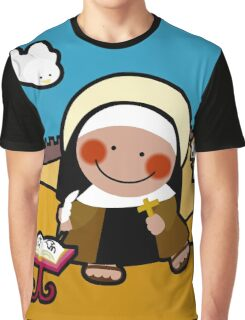 Saint Therese Of Jesus Graphic T-Shirt