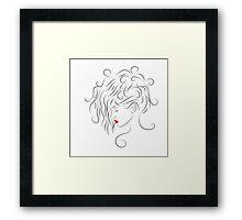 Floralisia V1 - Simple beauty Framed Print