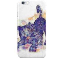 Panther Splash iPhone Case/Skin