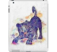 Panther Splash iPad Case/Skin