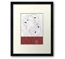 The Future Is Futurism Framed Print