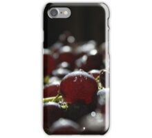 drops and grapes iPhone Case/Skin