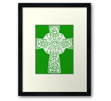 Irish Cross Framed Print