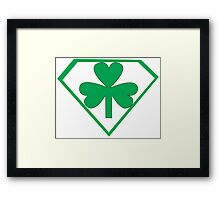 Super Irish Framed Print