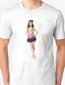 Sailor Girl with Candy Unisex T-Shirt