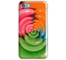 A spiral of jelly beans   iPhone Case/Skin