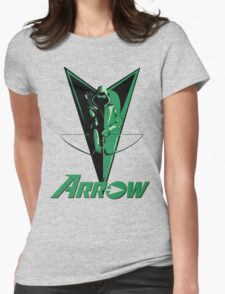 Green Arrow 2 Womens Fitted T-Shirt