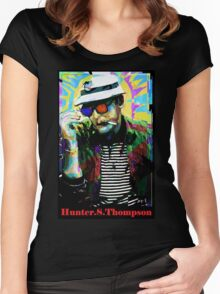 Hunter.S. Thompson.  Women's Fitted Scoop T-Shirt