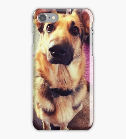 dusty the puppy iPhone Case/Skin