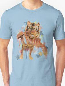 tiger splash ! Unisex T-Shirt