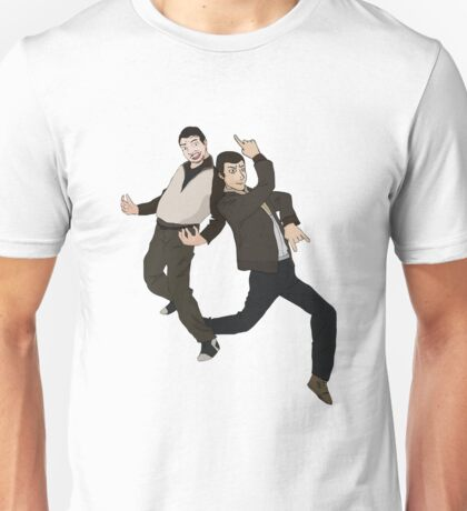Niko and Roman from GTA IV Unisex T-Shirt