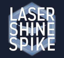 Laser Shine Spike One Piece - Long Sleeve