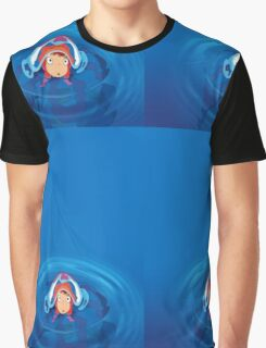 Ponyo swim Graphic T-Shirt