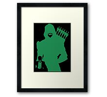 Arrow Comics Framed Print