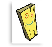 Ed, Edd N Eddy Plank Design  Canvas Print