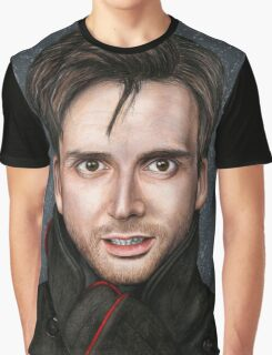 David Tennant Graphic T-Shirt